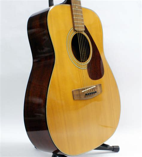 Yamaha Fs100c Acoustic Guitar Original vintage 1970 s yamaha fg 200 acoustic guitar with original reverb