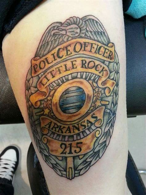 police badge tattoo 17 best images about inked on arrow tattoos