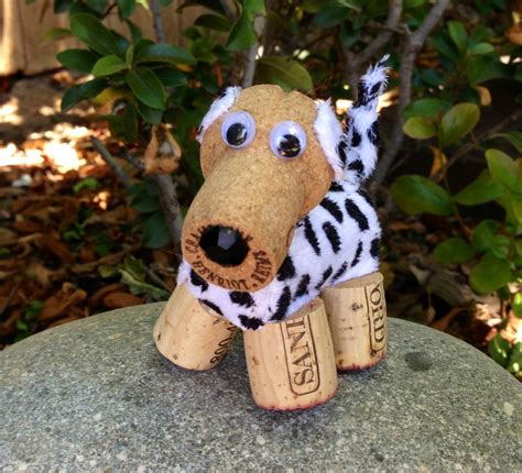 dog houses cork dalmatian puppy dog wine cork ornament wine by divinewinecorks