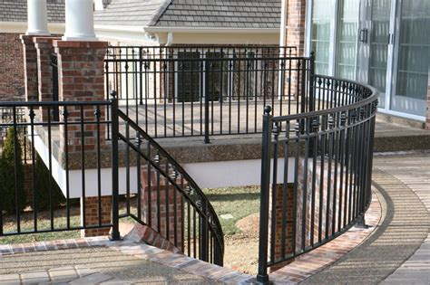 patio railings designs porch and patio railings
