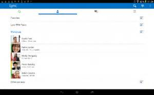 lync for android lync mobile update for android launches