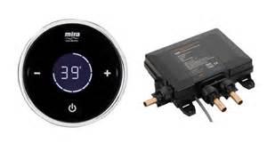 Digital Mixer Shower by Mira Platinum High Pressure Valve Controller Only