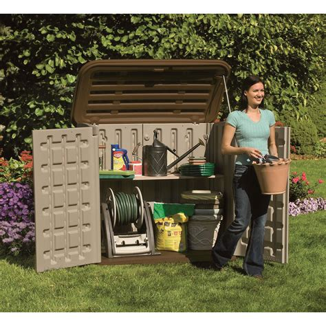 jardin ultra shed suncast horizontal shed 32 cu ft model bms3200