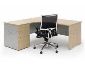 cheap office desks modern corner office furniture cheap l shape office desk