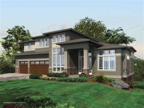 modern house bedroom modern house home plan homepw02492 4882 square foot 5 bedroom 5