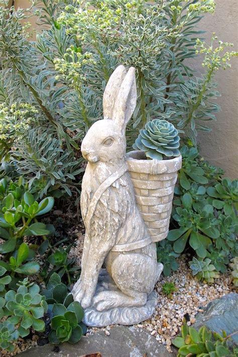 rabbit hunt garden art garden