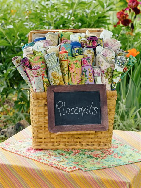Quilted Placemats For Sale by Zinnia Garden Placemat Quilted Set 4 Attic Sale Linens