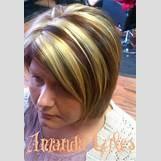 Dark Brown And Blonde Chunky Highlights | 431 x 621 jpeg 55kB