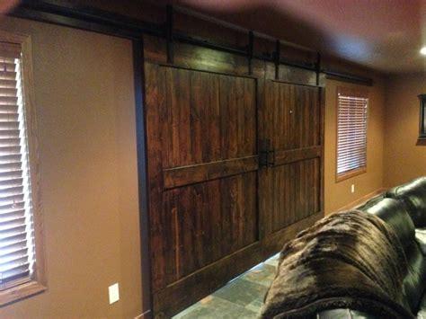 barn door hardware traditional basement other metro