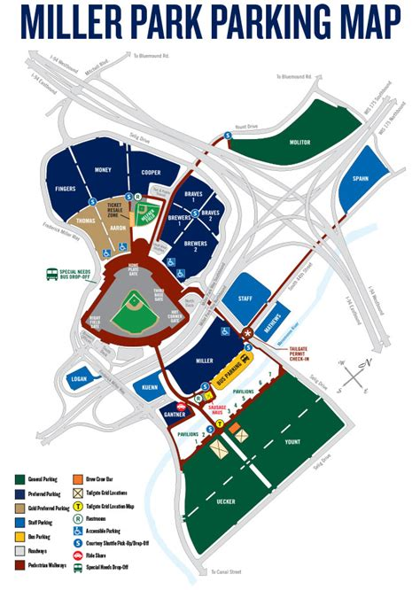 miller park seating map mukwonago area school district louis pawela