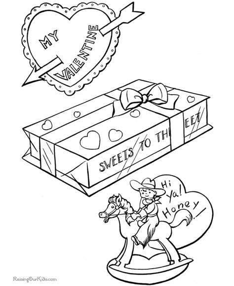 coloring page st valentine st valentine coloring page 023