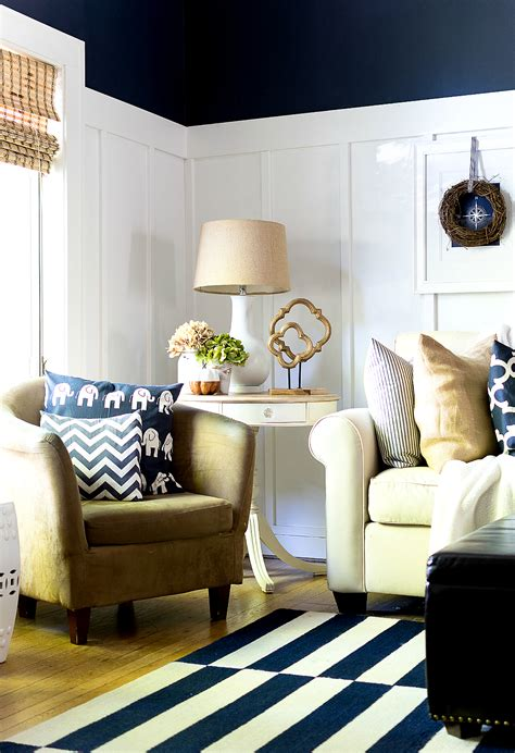 fall living room fall home tour living dining room it all started with paint