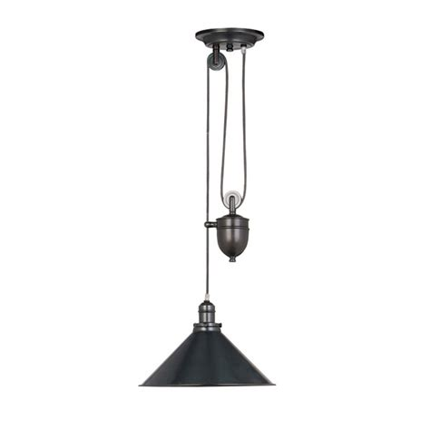 Fall Ceiling Lights Metal Rise And Fall Ceiling Pendant Light In Bronze Finish