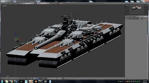 supreme commander mod supreme commander mod wip land battleship blender by