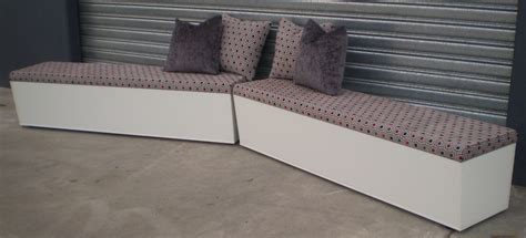 storage banquette seating banquette storage seating or window seating available in melbourne mornington