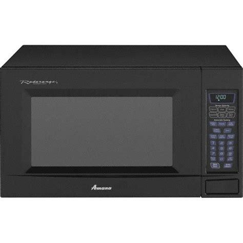 Amana Countertop Microwave by Amana Amc2206bab 2 0 Cu Ft Countertop Microwave Oven
