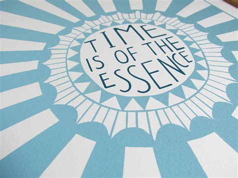 Time Is Of The Essence by Time Is Of The Essence Print By Alison Hardcastle