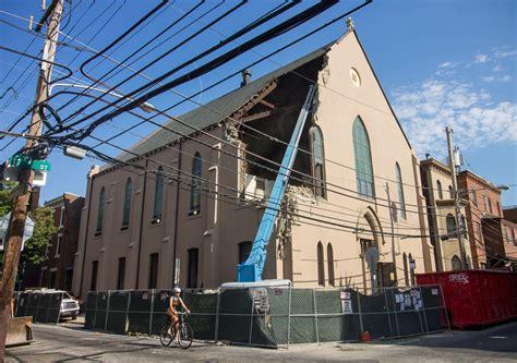 houses of light church demolition of two neighborhood sanctuaries begins hidden