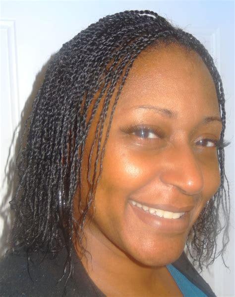 natural hairstyles micro braids micro mini two strand on natural hair a kiyia s natural