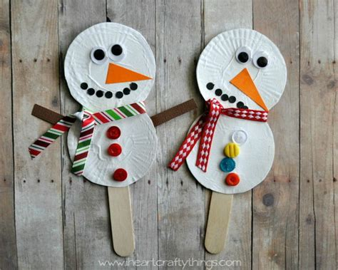 Winter Paper Crafts - and creative winter themed crafts for