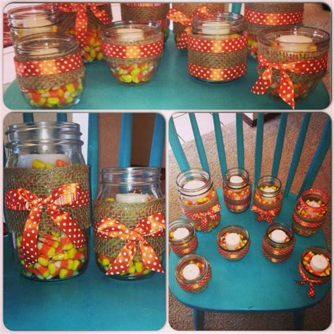 decorating with jars for fall fall jar decor jar projects