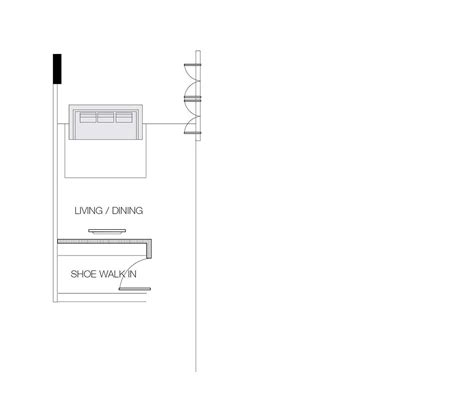 Long living room dining room layout
