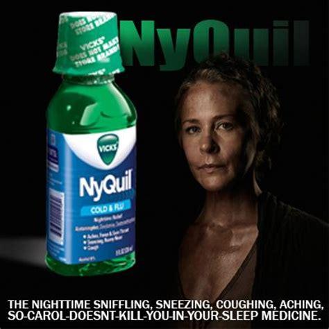 nyquil  carol doesnt kill  dead  pinterest