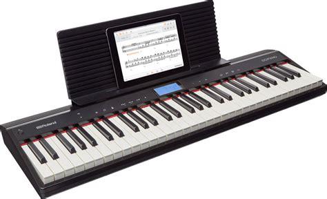 Keyboard Piano Roland roland go piano 61 key portable digital piano w speakers