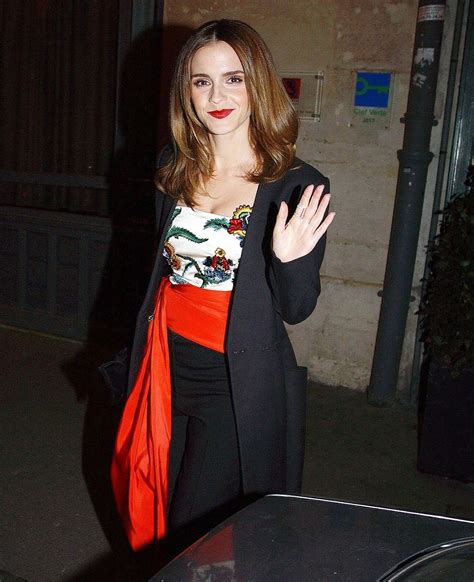 film emma watson 2017 emma watson heads for dinner with the cast of new film