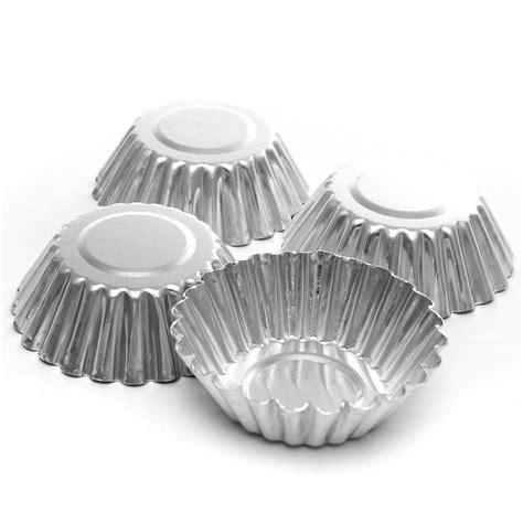 Alumunium Foil Silver Kue 10pcs aluminum foil egg mould baking cups tart muffin cupcake cases silver i5j8 4894560059044 ebay