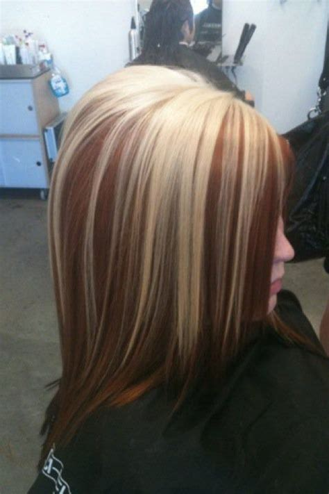 dramatic hair color highlights pictures 129 best hair blonde and red images on pinterest