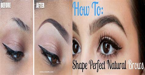 stylish eyebrows shapes for black women maxdio fashion beauty hair styles
