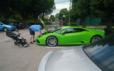 Golf Lamborghini We Re Going To Need A Bigger Boot Hilarious Moment