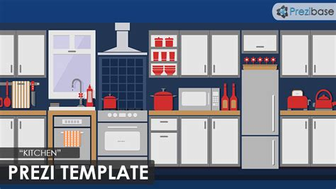 Kitchen Prezi Template Prezibase Kitchen Appliances Templates