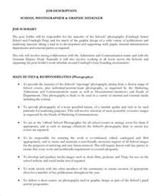 Photography Description by Doc 600730 Photographer Description Photographer Description 10 Free Word Pdf