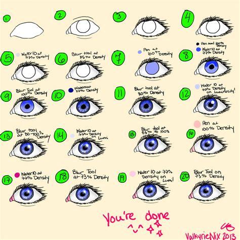 paint tool sai eye tutorial eye tutorial for paint tool sai by valkyrienix on deviantart