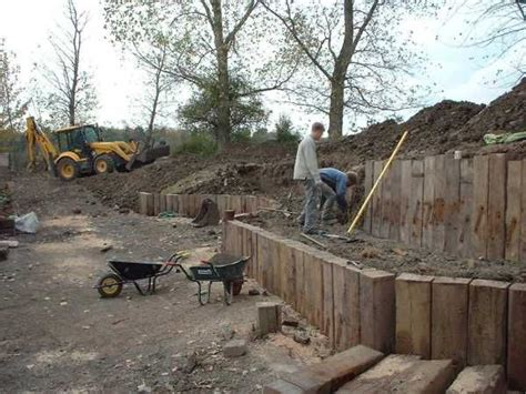 Kilgraney Railway Sleepers by 17 Best Images About Retaining Walls On Sleeper Wall Railway Sleepers And Oak Sleepers