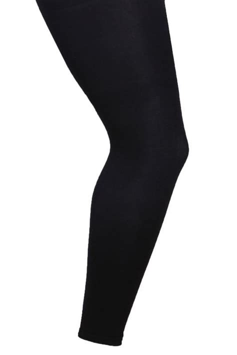 200 denier footless tights simple accessories and comfortable black footless 80 denier tights plus size 16 to 32