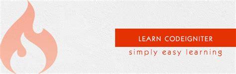 codeigniter tutorial in ellislab codeigniter tutorial