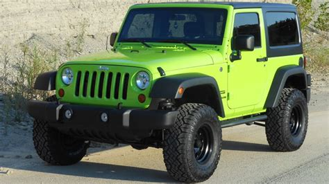 jeep green 2013 jeep wrangler sport 4x4 gecho green interior