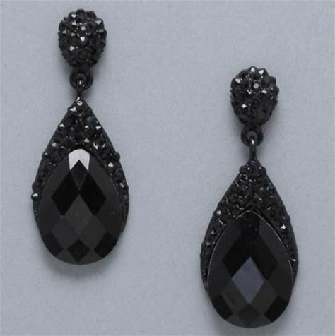 best 25 black earrings ideas on black stud