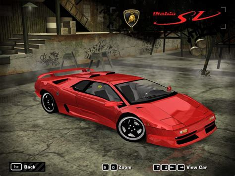 Lamborghini Diablo Speed Need For Speed Most Wanted Lamborghini Diablo Sv Nfscars