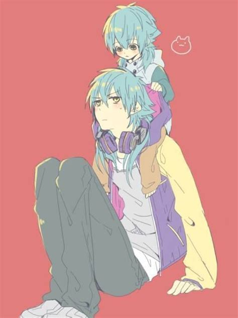 shota animation sly blue aoba ver shota dramatical murder pinterest