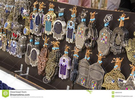 Souvenir Israel souvenirs in the market israel editorial stock