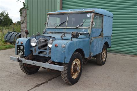 land rover series 1 hardtop land rover series 1 80 quot hardtop 1951 project last owner