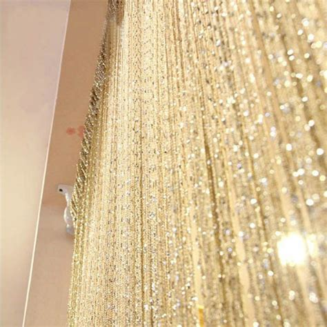curtain prices factory price 13 colors vogue curtain silver silk tassel