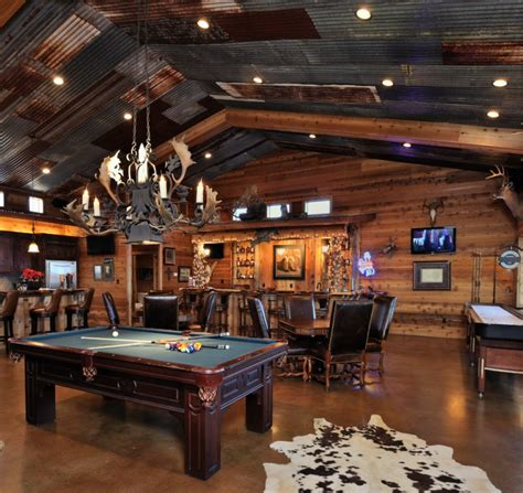 epic man cave design ideas  sports fans outdoorsmen