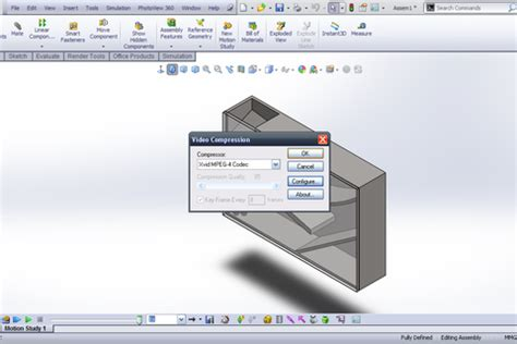 tutorial solidworks motion 2012 tutorial simulation of ball basic motion in solidworks