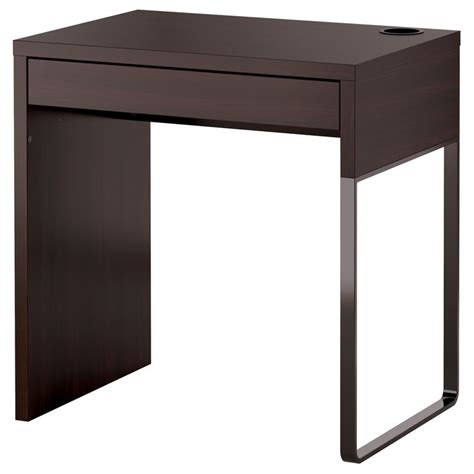 Micke Desk Vanity by Micke Desk Black Brown