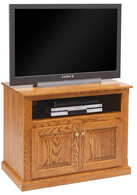 Tv Cabinet With Doors Amish Made Tv Stand With Doors